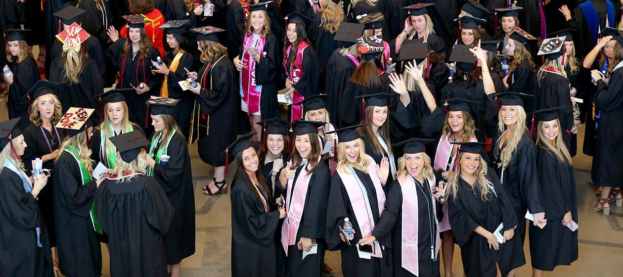graduation commencement iowa state university