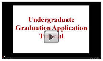 undergrad graduation app video