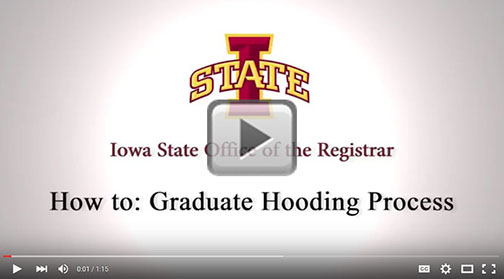 video: How to hood your graduate